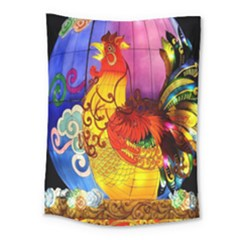 Chinese Zodiac Signs Medium Tapestry