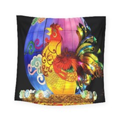 Chinese Zodiac Signs Square Tapestry (small)