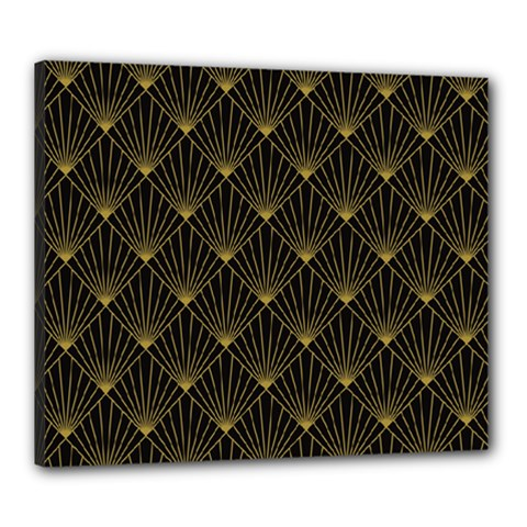 Abstract Stripes Pattern Canvas 24  x 20