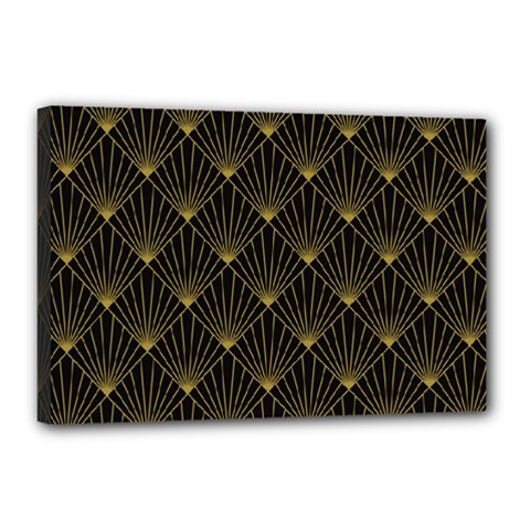 Abstract Stripes Pattern Canvas 18  x 12