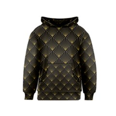 Abstract Stripes Pattern Kids  Pullover Hoodie