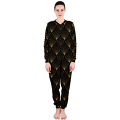 Abstract Stripes Pattern Onepiece Jumpsuit (ladies)