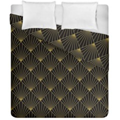 Abstract Stripes Pattern Duvet Cover Double Side (California King Size)