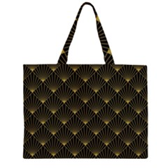 Abstract Stripes Pattern Large Tote Bag