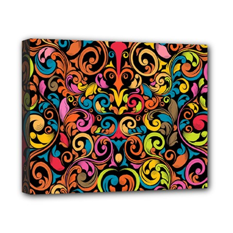 Art Traditional Pattern Canvas 10  x 8