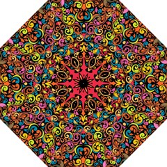 Art Traditional Pattern Folding Umbrellas