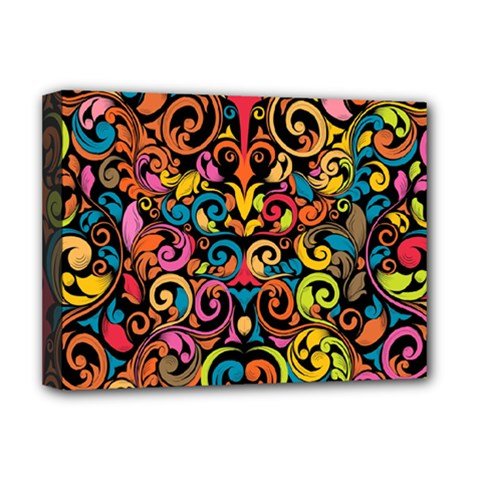 Art Traditional Pattern Deluxe Canvas 16  x 12