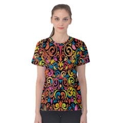 Art Traditional Pattern Women s Cotton Tee