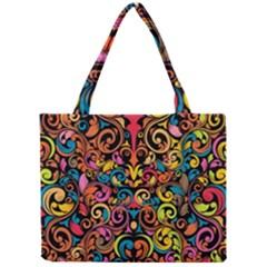 Art Traditional Pattern Mini Tote Bag