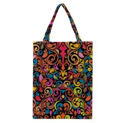 Art Traditional Pattern Classic Tote Bag