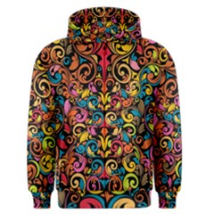 Art Traditional Pattern Men s Zipper Hoodie