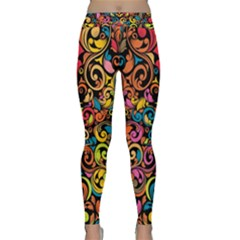 Art Traditional Pattern Classic Yoga Leggings