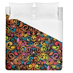 Art Traditional Pattern Duvet Cover (Queen Size)