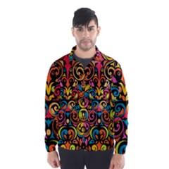 Art Traditional Pattern Wind Breaker (Men)