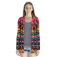 Art Traditional Pattern Cardigans