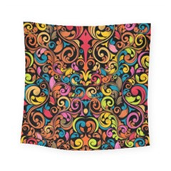 Art Traditional Pattern Square Tapestry (small)