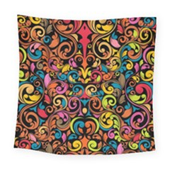 Art Traditional Pattern Square Tapestry (large)
