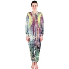Frosty Pale Moon Onepiece Jumpsuit (ladies)