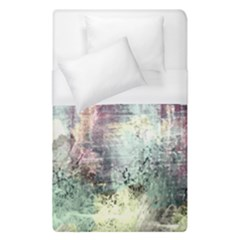 Frosty Pale Moon Duvet Cover (single Size)