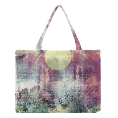 Frosty Pale Moon Medium Tote Bag