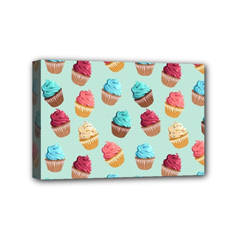 Cup Cakes Party Mini Canvas 6  X 4