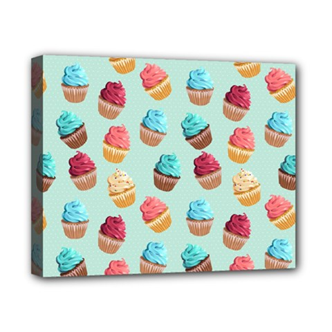 Cup Cakes Party Canvas 10  x 8