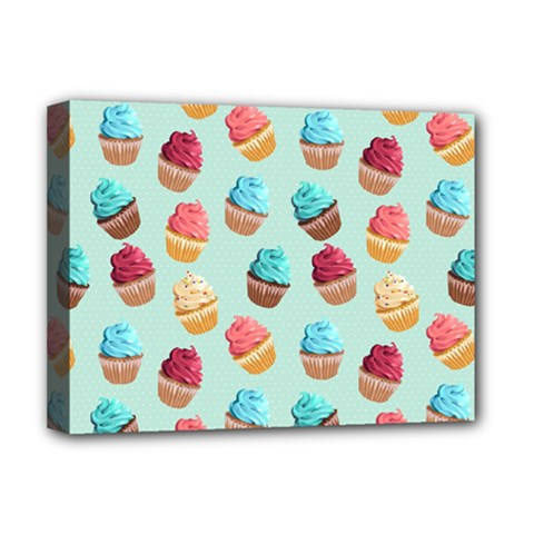 Cup Cakes Party Deluxe Canvas 16  x 12
