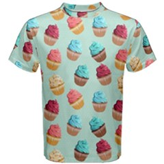 Cup Cakes Party Men s Cotton Tee