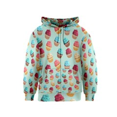 Cup Cakes Party Kids  Zipper Hoodie