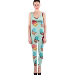 Cup Cakes Party OnePiece Catsuit