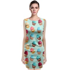 Cup Cakes Party Classic Sleeveless Midi Dress