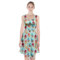 Cup Cakes Party Racerback Midi Dress