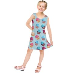 Cup Cakes Party Kids  Tunic Dress