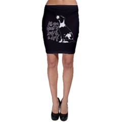 Dog person Bodycon Skirt