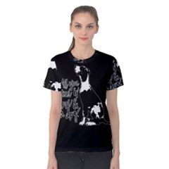 Dog person Women s Cotton Tee