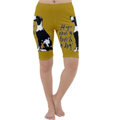 Dog person Cropped Leggings