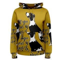 Dog person Women s Pullover Hoodie