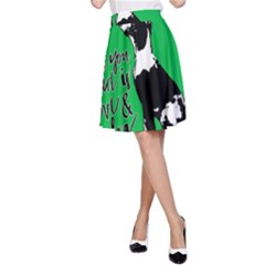 Dog person A-Line Skirt
