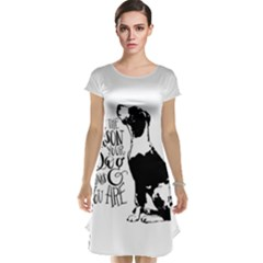 Dog person Cap Sleeve Nightdress