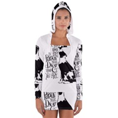 Dog person Women s Long Sleeve Hooded T-shirt