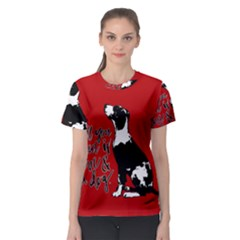 Dog person Women s Sport Mesh Tee