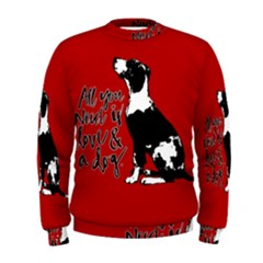 Dog person Men s Sweatshirt