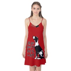 Dog person Camis Nightgown