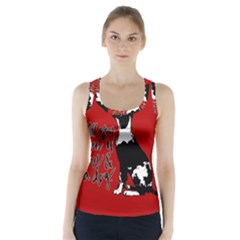 Dog person Racer Back Sports Top