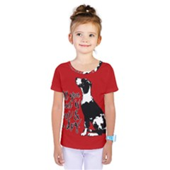 Dog person Kids  One Piece Tee