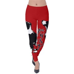 Dog person Velvet Leggings