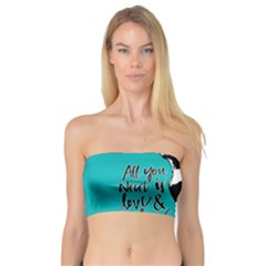 Dog person Bandeau Top