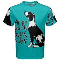 Dog person Men s Cotton Tee