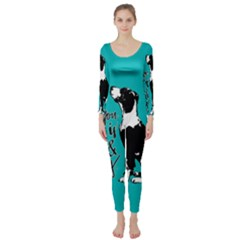 Dog person Long Sleeve Catsuit