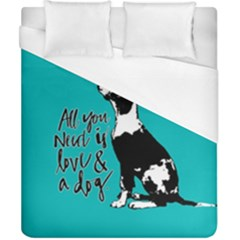 Dog person Duvet Cover (California King Size)